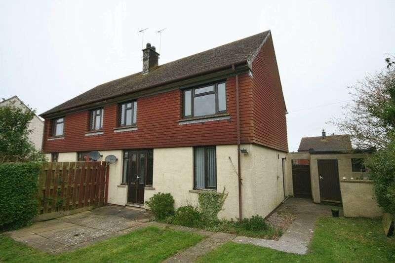 2 Bedrooms Semi Detached House for sale in Ffordd Cerrig Mawr, Caergeiliog