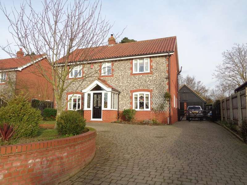 4 Bedrooms Detached House for sale in Nacton Road, Levington, Ipswich IP10