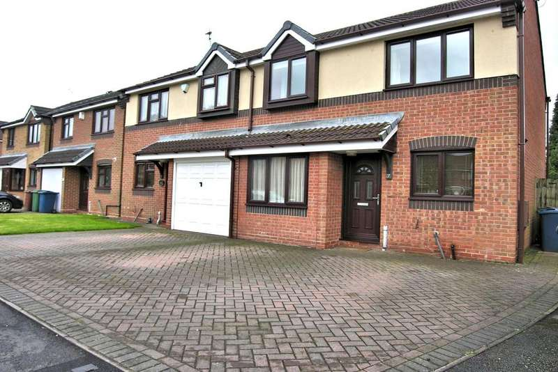 3 Bedrooms Semi Detached House for sale in GLOBE AVENUE, CROFTERWOOD, STAFFORD ST17
