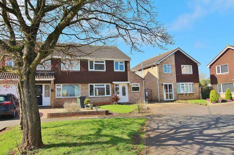 3 Bedrooms Semi Detached House for sale in Sheridan Way, Longwell Green, Bristol