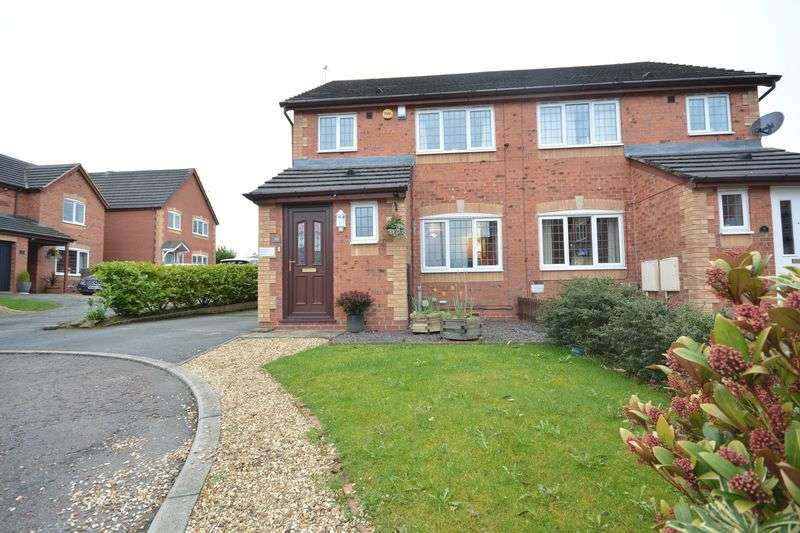 3 Bedrooms Semi Detached House for sale in Hesketh Court, Great Harwood