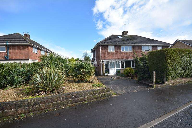 3 Bedrooms Semi Detached House for sale in Crediton Road, Llanrumney, Cardiff, Cardiff. CF3