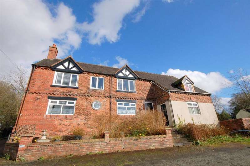 4 Bedrooms Detached House for sale in Church Bank, Audley