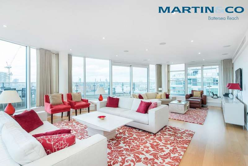4 Bedrooms Apartment Flat for sale in Kingfisher House, Battersea Reach