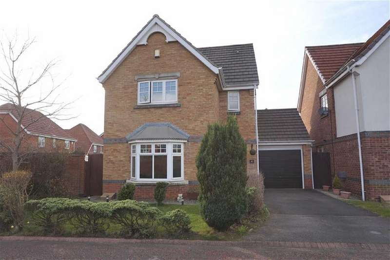 3 Bedrooms Detached House for sale in Bede Close, Holystone, Newcastle Upon Tyne, NE12