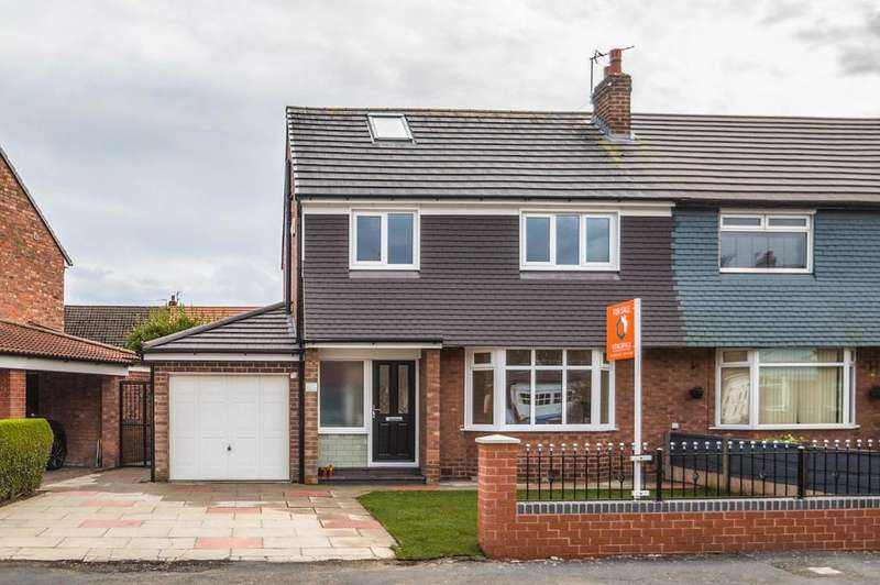 4 Bedrooms Semi Detached House for sale in Woodhouse Road, Davyhulme, Manchester, M41