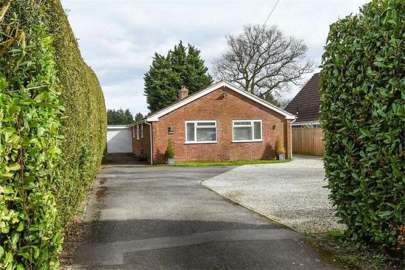 3 Bedrooms Detached Bungalow for sale in Boyneswood Road, MEDSTEAD, Hampshire