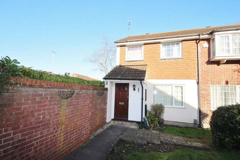 3 Bedrooms End Of Terrace House for sale in Cemetery Road, Houghton Regis, Dunstable, LU5
