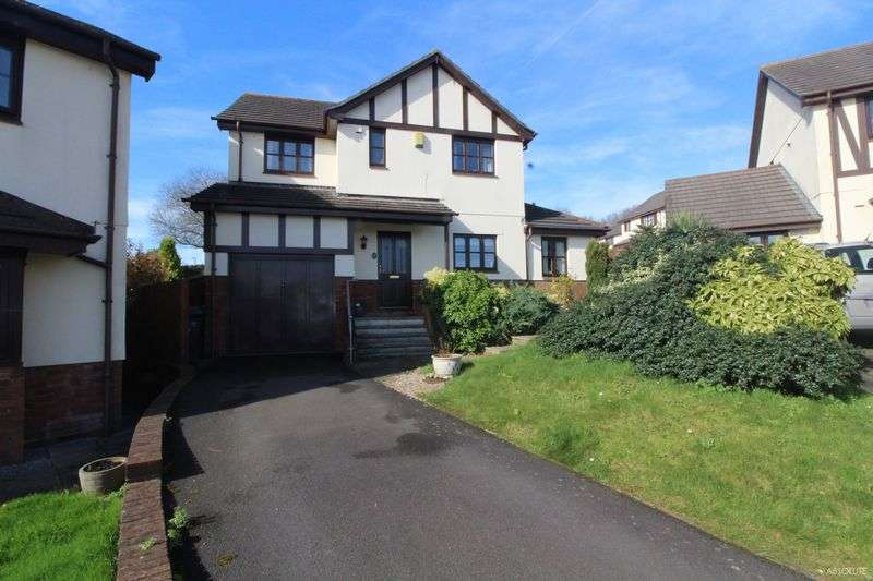 4 Bedrooms Detached House for sale in Shetland Close, Torquay