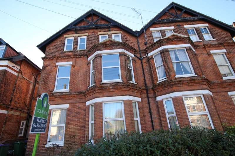 2 Bedrooms Flat for sale in Cheriton Road, Folkestone, CT19