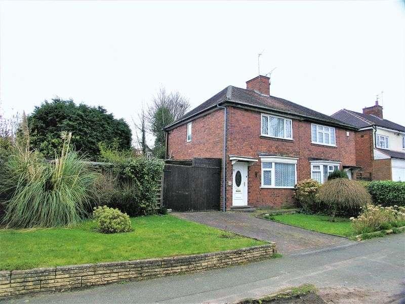 2 Bedrooms Semi Detached House for sale in Braden Road, Penn, Wolverhampton