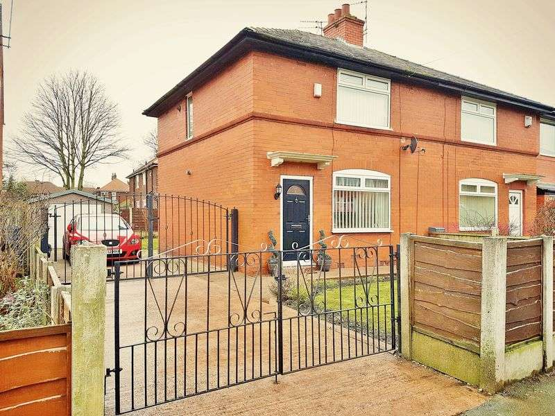 2 Bedrooms Semi Detached House for sale in Peel Green Road, Eccles