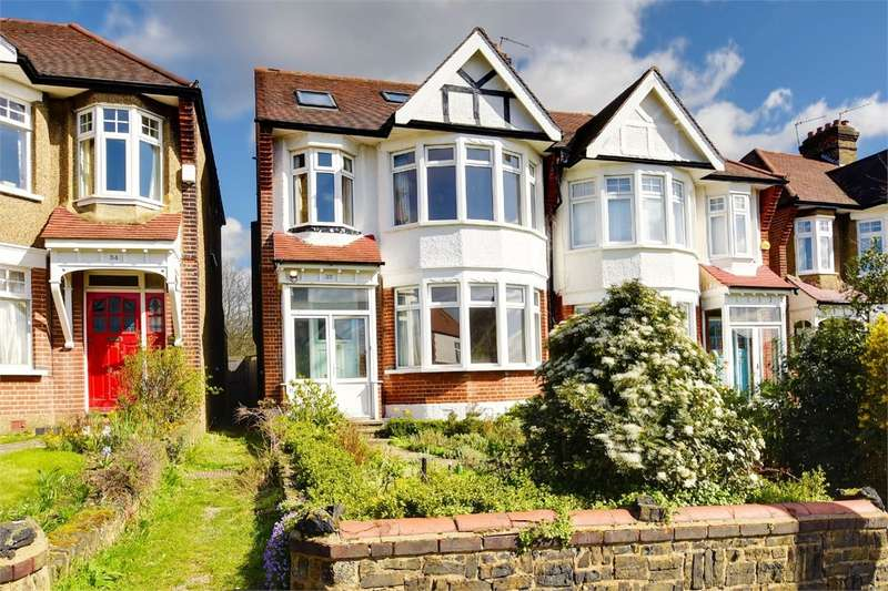4 Bedrooms Semi Detached House for sale in Wroxham Gardens, Alexandra Park Borders, London