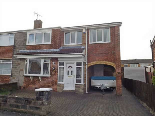 4 Bedrooms Semi Detached House for sale in Rudston Close, Thornaby, Stockton-on-Tees, North Yorkshire