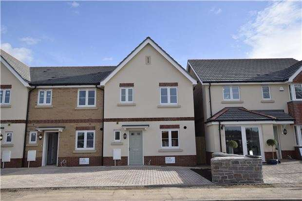 3 Bedrooms End Of Terrace House for sale in Plot 4 The Burton, Charlotte Mews, Heath Rise, Cadbury Heath, Bristol, BS30 8DD