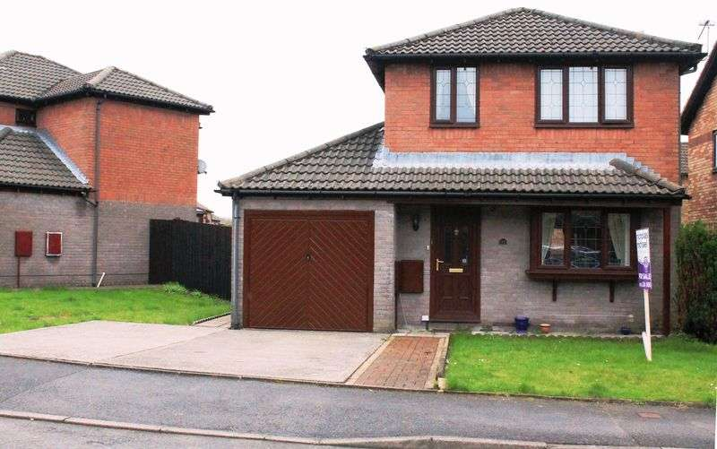 3 Bedrooms Detached House for sale in Cottesmore Way, Cross Inn, Llantrisant, CF72 8BG