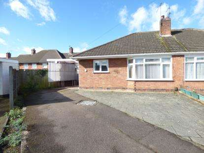 2 Bedrooms Bungalow for sale in Chestnut Avenue, Oadby, Leicester