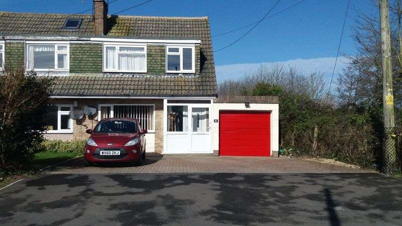 3 Bedrooms Semi Detached House for sale in Old Banwell Road, Locking Village, Weston-super-Mare