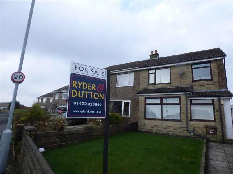 3 Bedrooms Property for sale in Heathmoor Way, Illingworth, HALIFAX, West Yorkshire, HX2