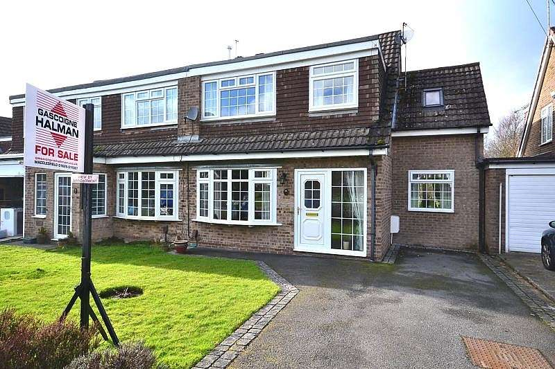 4 Bedrooms Semi Detached House for sale in Tewkesbury Drive, Tytherington, Macclesfield