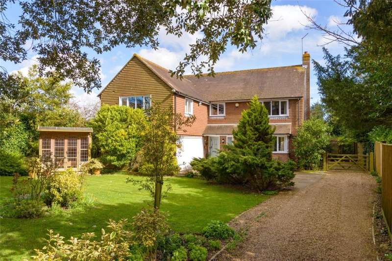 5 Bedrooms Detached House for sale in Coldharbour Lane, Patching, Worthing, West Sussex, BN13