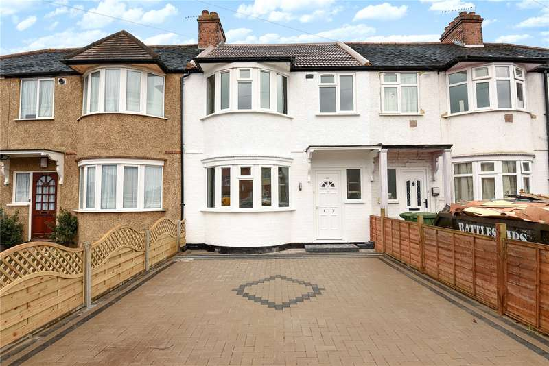 3 Bedrooms Terraced House for sale in Carmelite Road, Harrow, Middlesex, HA3