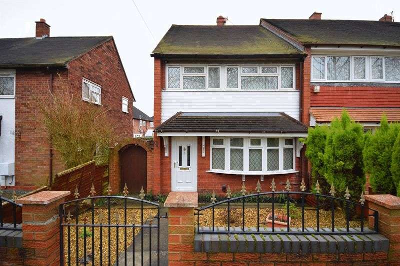 2 Bedrooms Semi Detached House for sale in Arbourfield Drive, Berry Hill