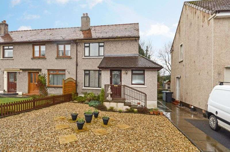 2 Bedrooms Terraced House for sale in Mill Road, Banton