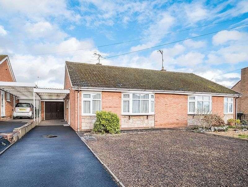 2 Bedrooms Semi Detached Bungalow for sale in Barnett Lane, Wordsley