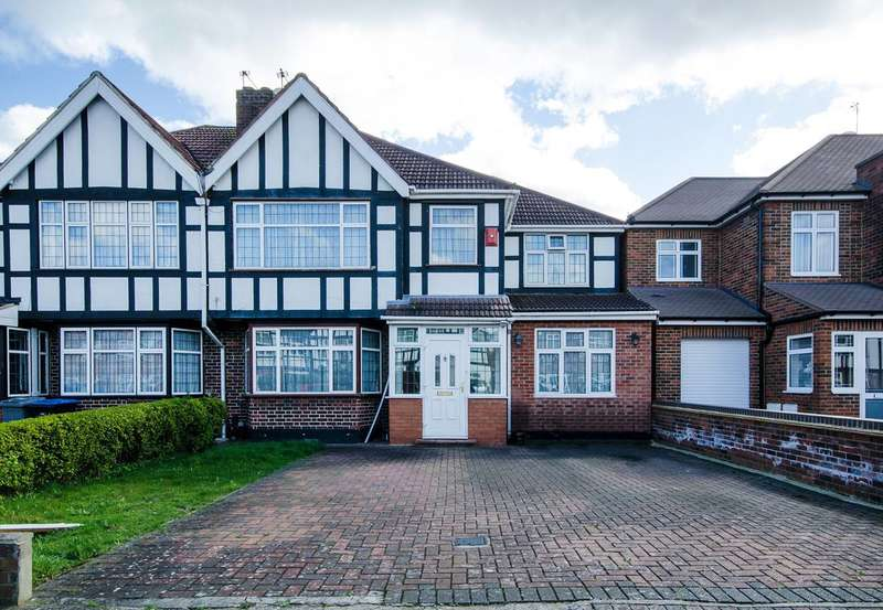 5 Bedrooms Semi Detached House for sale in Lindsay Drive, Kenton, HA3
