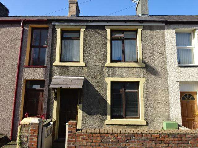 3 Bedrooms Terraced House for sale in CAERNARFON ROAD, BANGOR LL57