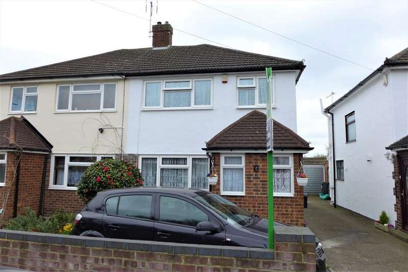 3 Bedrooms Semi Detached House for sale in Armstrong Road, Feltham