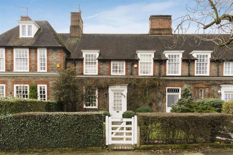 4 Bedrooms Terraced House for sale in Heathgate, Hampstead Garden Suburb, NW11