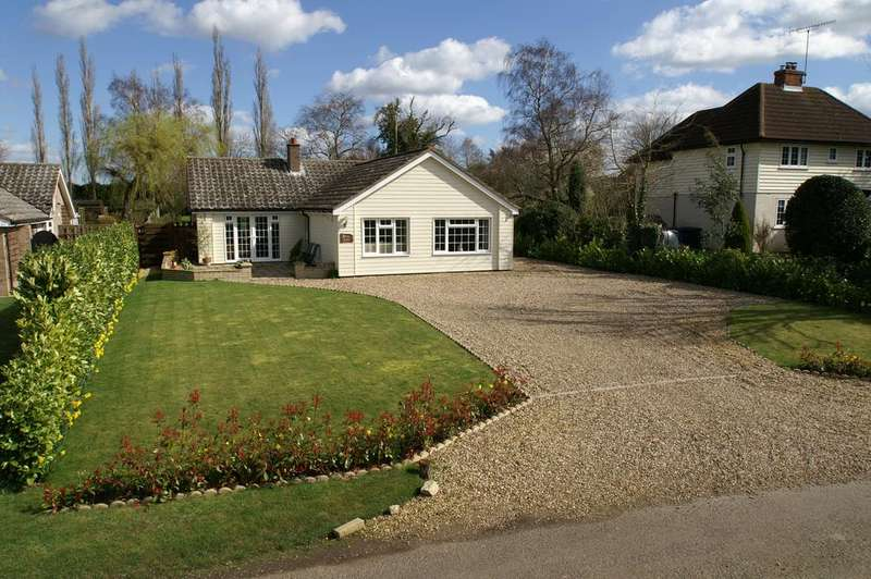 4 Bedrooms Detached Bungalow for sale in Upper Road, Little Cornard, Sudbury CO10