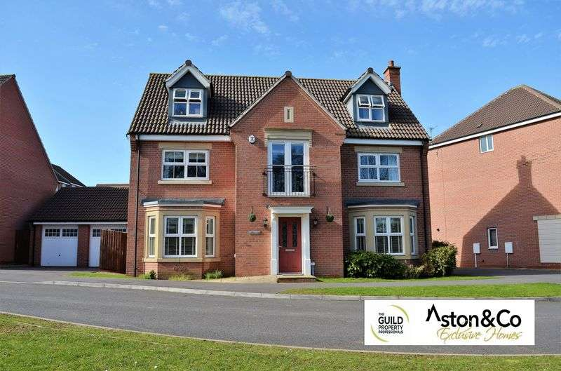 5 Bedrooms Detached House for sale in Thornborough Way, Hamilton, Leicester