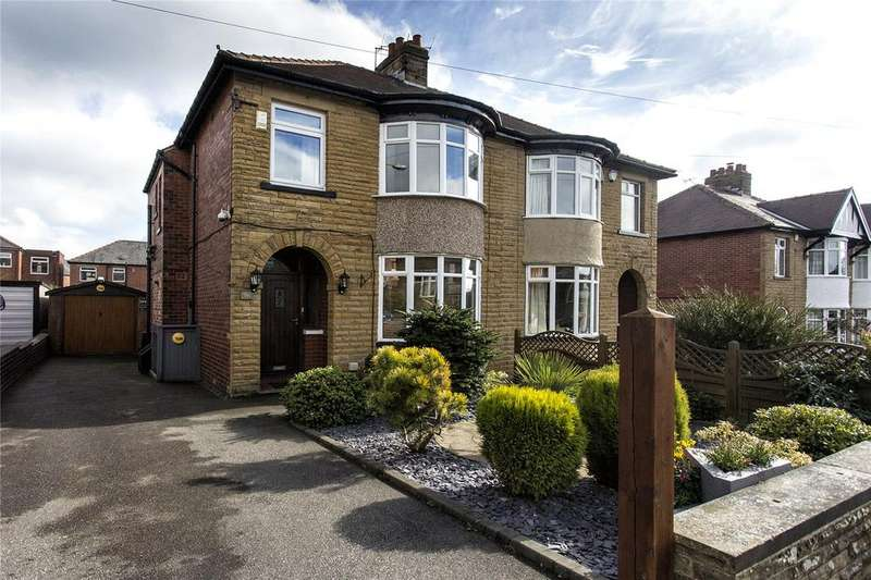 3 Bedrooms Semi Detached House for sale in Bennett Lane, Dewsbury, West Yorkshire, WF12