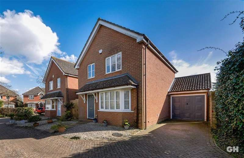 3 Bedrooms Detached House for sale in Antonius Court, Kingsnorth, Ashford