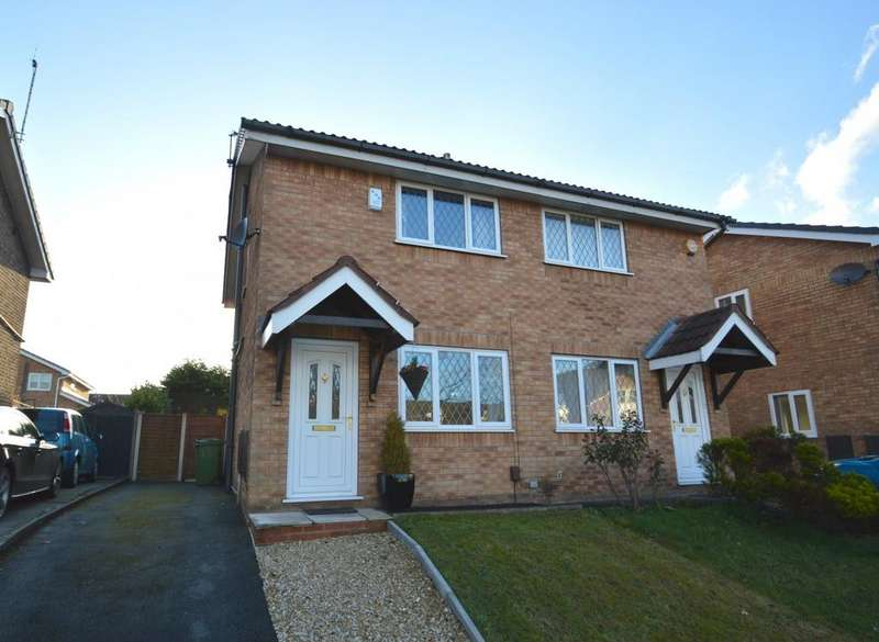 2 Bedrooms Terraced House for sale in Keepers Close, Knutsford