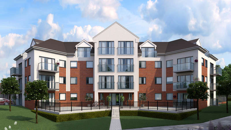 2 Bedrooms Apartment Flat for sale in Flat 2 Block G Britannia Gate, Kempston Road, Bedford, MK42