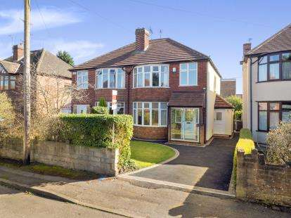 3 Bedrooms Semi Detached House for sale in Kenilworth Road, Beeston, Nottingham, .