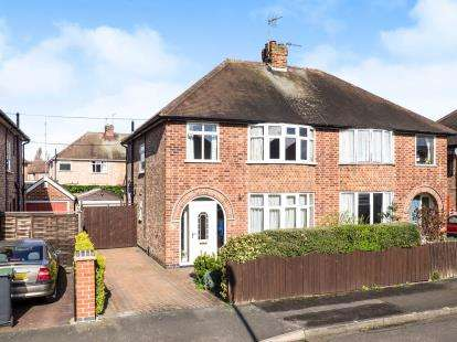 3 Bedrooms Semi Detached House for sale in Crofton Road, Attenborough, Nottingham, Nottinghamshire