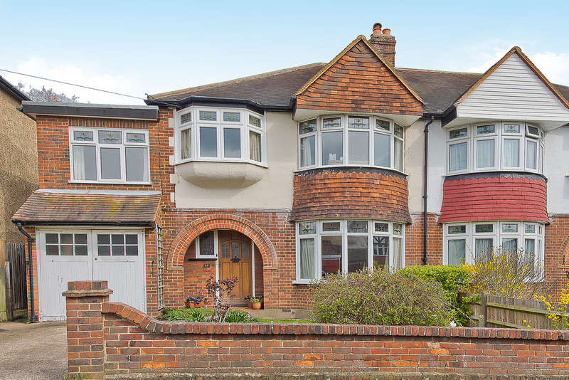 4 Bedrooms Semi Detached House for sale in Manor Crescent, Surbiton