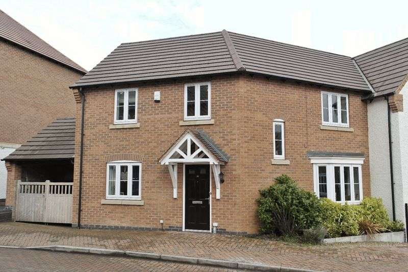 3 Bedrooms Semi Detached House for sale in Montgomery Road, Earl Shilton