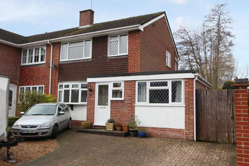 4 Bedrooms Semi Detached House for sale in Waterbeech Drive, Hedge End SO30