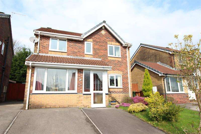 4 Bedrooms Detached House for sale in Trem Y Castell, Caerphilly