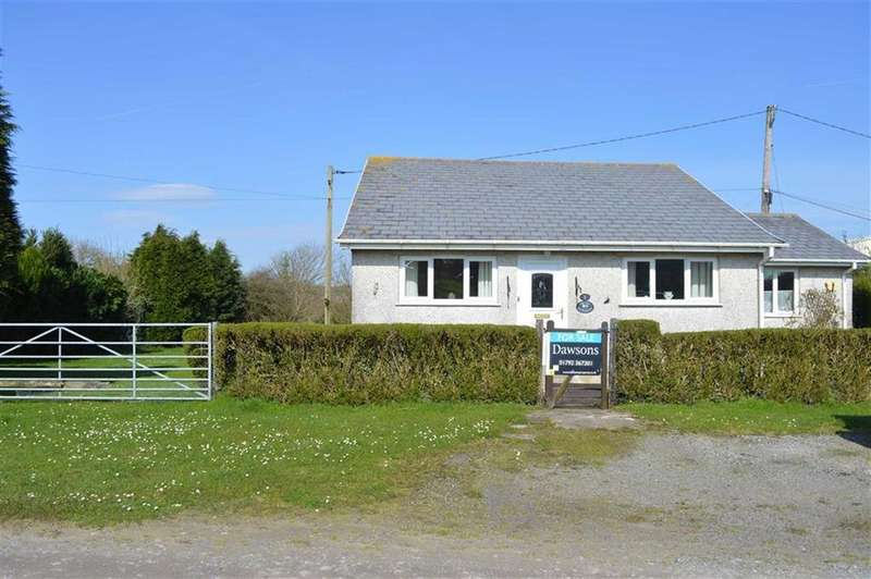2 Bedrooms Detached Bungalow for sale in Sandy Lane, Parkmill, Swansea
