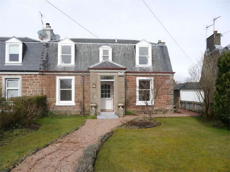 3 Bedrooms Semi Detached House for sale in 5 Gallowhill Road, Kinross, Kinross-shire