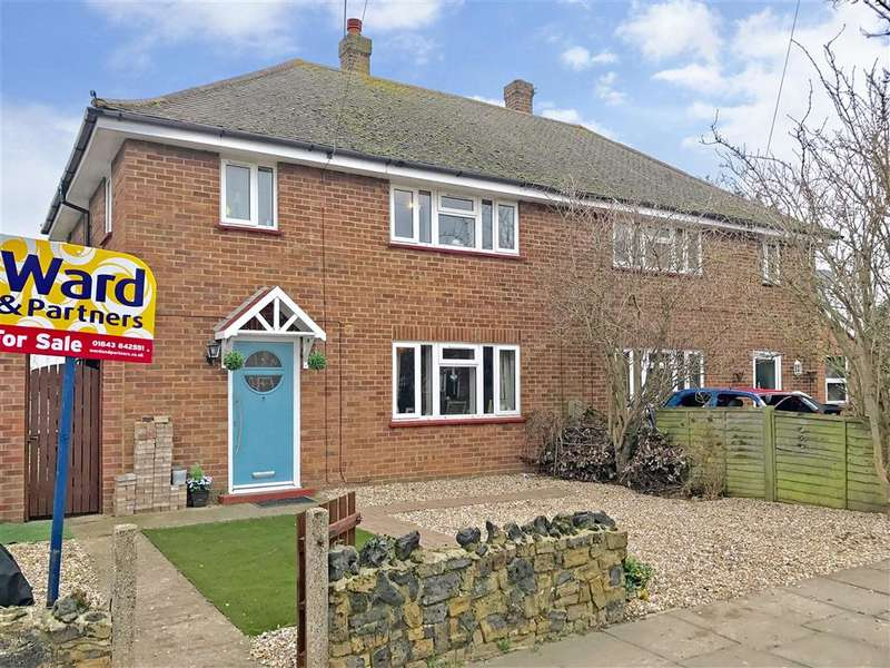 3 Bedrooms Semi Detached House for sale in Southwold Place, Westgate-On-Sea, Kent