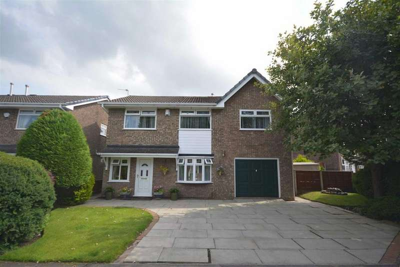4 Bedrooms Detached House for sale in Killington Close, Hawkley Hall, Wigan, WN3