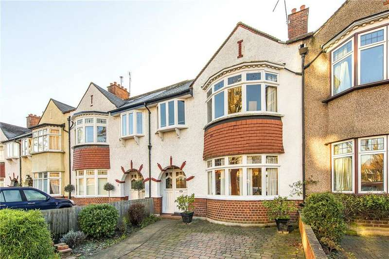 3 Bedrooms Terraced House for sale in Magdalen Road, London, SW18